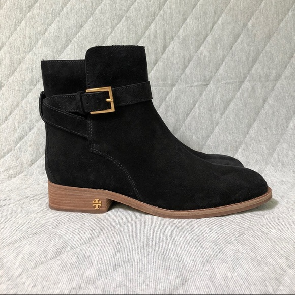 Tory Burch Suede Brooke Ankle Bootie